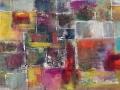 Abstrakt I karriert 27x78