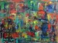 Farbspiegelung, 2013, 60x80