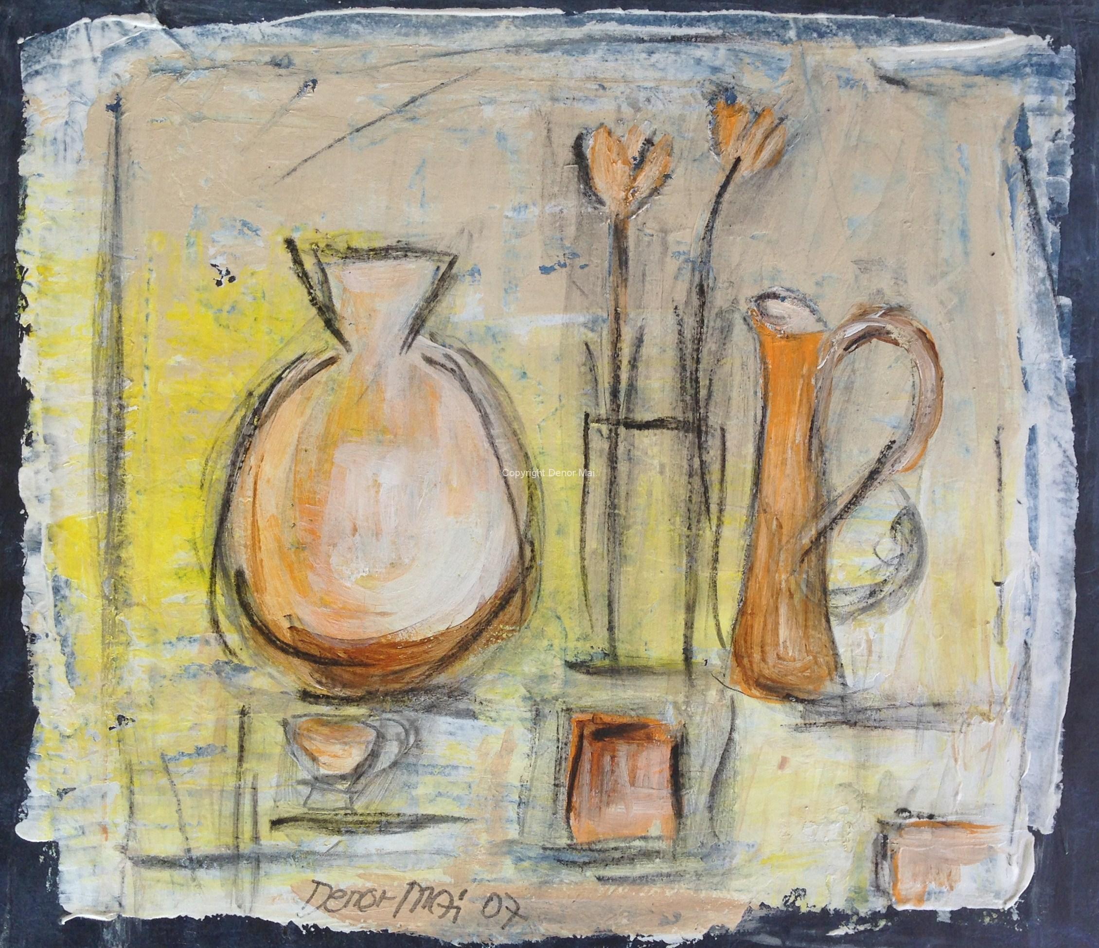 Antike Gefäße, 2007, 24x30