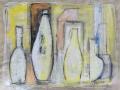Gelbe Flaschen, 2008, 30x40